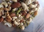 1 cup of almonds, walnuts, cashews, pistachios, sunflower seeds, pumpkin seeds
